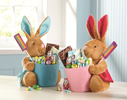 Delight kids with candy filled Easter baskets from The Swiss Colony