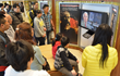 Guests at the open house February 1, 2015, at the Church of Scientnology of Kaohsiung, Taiwan, learned how German psychiatry orchestrated the policies of the Holocaust.