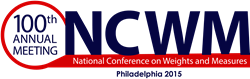 100th Annual Meeting of the National Conference on Weights and Measures: July 2015