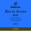 eDiscovery Provider e-Stet Receives Relativity Best in Service...