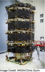 DUNMORE Multi-Layer Insulation Film Protects Four MMS Mission Spacecraft