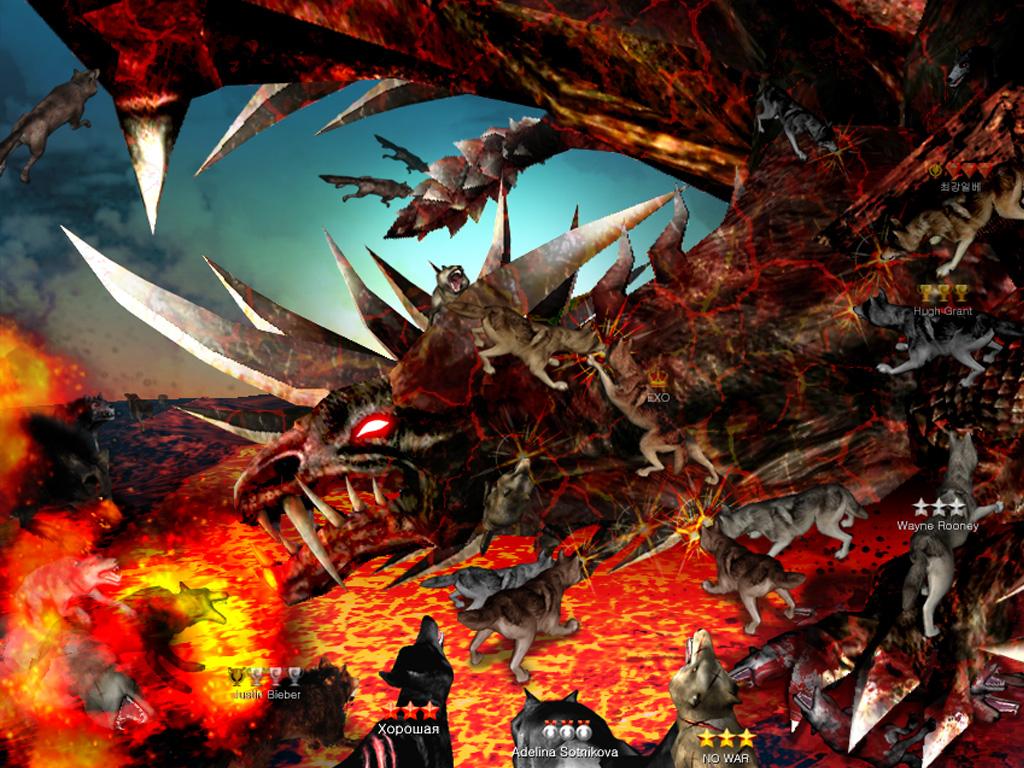 Online Wolf Games