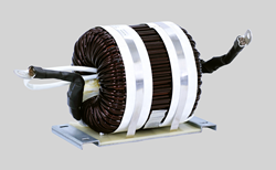 Toroidal  magnetic inductor Traftor Technology 340uH 180A