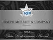 Joseph Merritt Company Achieves Top Performing Sales Award