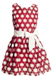 Eye-Catching Dress, Embroidery Dress, Floral Dress, Skater Dress