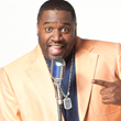 Corey Holcomb appears in NYC as host of the Hot 97 April Fools Comedy Show at the Theater at Madison Square Garden.