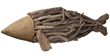 Natural Driftwood Fish 356003 from Lazy Susan