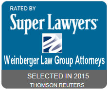Weinberger Law Group 2015 New Jersey Super Lawyers