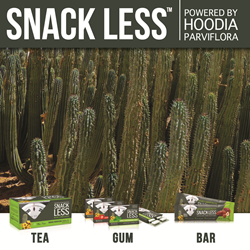 Snack Less - Nature's Hunger Buster - powered by Hoodia parviflora