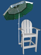 LIFEGUARD UMBRELLA AND CHAIR