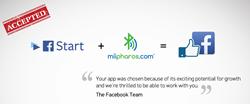 MiiPharos ibeacon Facebook, Fbstart