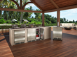 Marvel Outdoor Refrigeration has been developed and tested to endure the elements for maximum performance in outdoor kitchens.