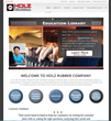 Holz Rubber Company Launches Educational Website