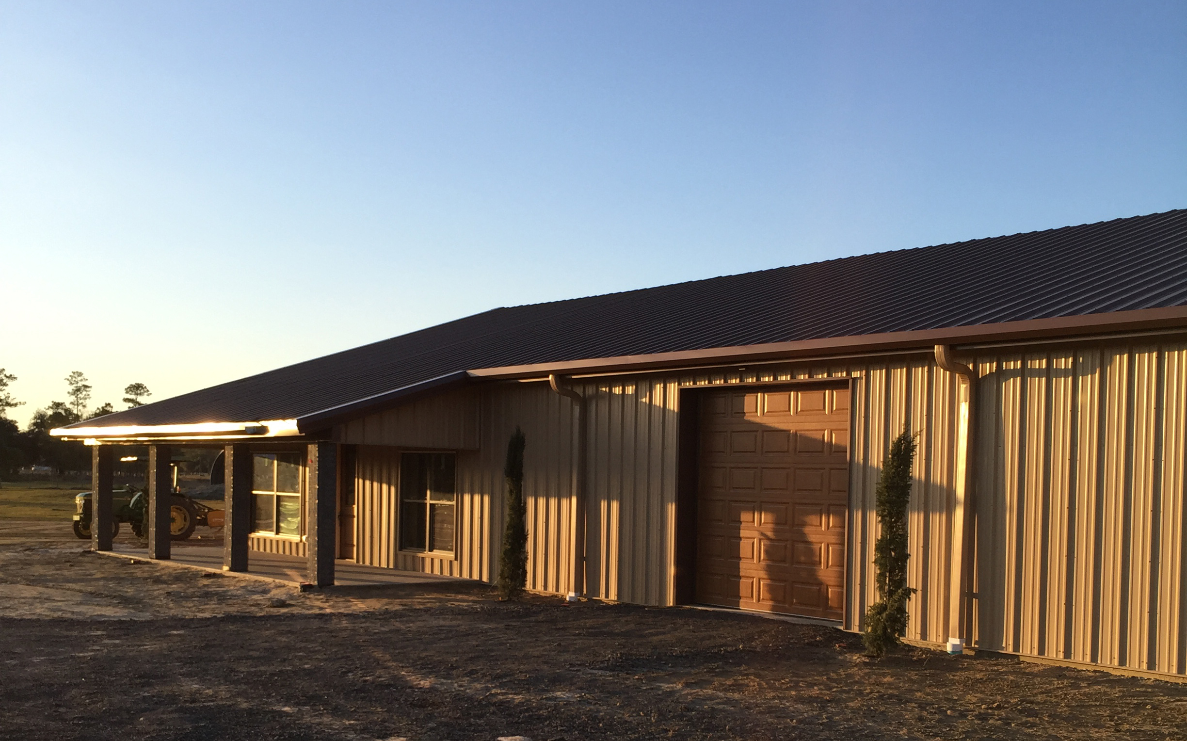 Allied Steel Buildings Completed A Steel Building Project