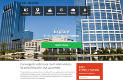 HexaGroup announces redesigned website for Convergentz, a leading provider of advanced building automation integration.