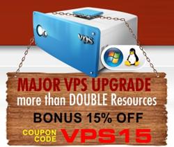 VPS Server Upgrade Offer