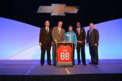 Joe Marinello wins Service Award from General Motors