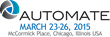 Wide range of robotic solutions from igus to be displayed at Automate 2015 in Chicago