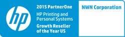 NWN Awarded HP PartnerOne Printing and Personal Systems Growth Reseller of the Year for the US