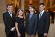 Tim Bates, Emma Isabella Pawl, Christopher Lancaster, Zachary Milestone, 2015 Youth Achievement Award Winners