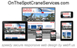 Miami Crane Service Company On The Spot Crane Services Launches New...