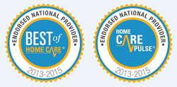2015 Home Care Pulse and Best of Home Care® Endorsed National Provider Awards