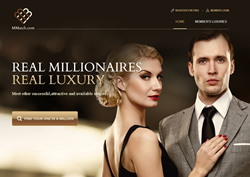 Millionaire dating site catering to the rich and the attractive