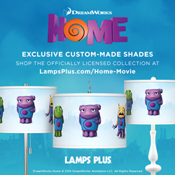 "Lamps Plus Officially Licensed Lighting from the Movie ""HOME"""