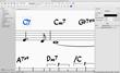 Chord symbol input