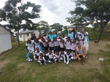 AC&M's Brian Cockman with the kids at the orphanage in St. Lucia, South Africa after distributing soccer gear provided by the U.S. Soccer Foundation's Passback Program.