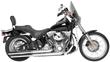 Rush Racing Long-Style Full Exhaust System for Harley-Davidson, Slash Cut