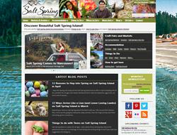 Salt Spring Island Website Homepage SaltSpringMarket.com