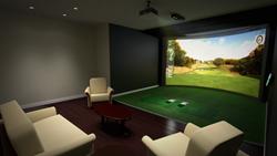 HD Golf Simulator: The Newest Condo Amenity
