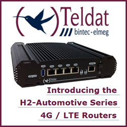Teldat H2 Automotive in-vehicle & transport router