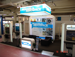 Exhibit Built by Absolute Exhibits at the Paris Air Show