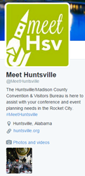 Huntsville/Madison County CVB launches @MeetHuntsville