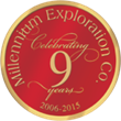 Millennium Exploration Company Celebrating 9 Years in 2015