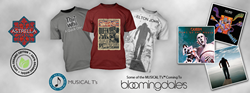 Some of the MUSICAL T's™  coming to Bloomingdale's