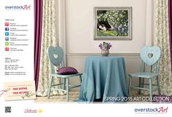 overstockArt.com Announces Release of Its 2015 Spring Art Catalog
