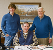 American Quilter's Society Welcomes Third Generation of Founding...