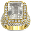 Announcing the Release of the Royal White Tourmaline Pinky Ring By...