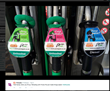 Petrol Pump adverts for Pump Pal auto gadget