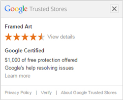 Framed Art Google Badge