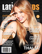 Thalia Graces Cover of LatinTRENDS Magazine