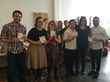 A few of the 570 Etsian recipients of Metal Pressions Project #ThanksEtsy at Etsy's Brooklyn, NY Headquarters