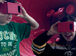 "Immersive Education students use Virtual Reality (VR) to ""become"" red blood cells flowing through an artery in the human body."