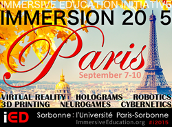 USA Department of Interior featured at IMMERSION 2015 in Paris this September