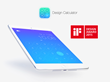 Design Calculator on iPad with iF Design Award 2015