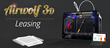 Airwolf 3D Announces Availability of Equipment Leasing for 3D Printers