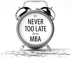 Never too old for business school: Studying an MBA in your 40s